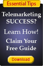 Improve your telemarketing - claim your free guide